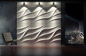 wavy wall panels wave effect 3d walls
