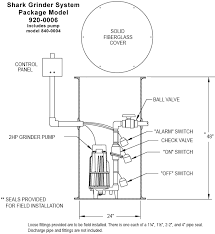 prepackaged sewage grinder systems complete job ready click for dimensions of grinder system