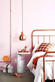 formidable copper pendant light bedroom pictures ideas