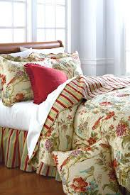 red toile sheets waverly charleston chirp quilt collection belkcom belk bedding red toile flannel sheets red
