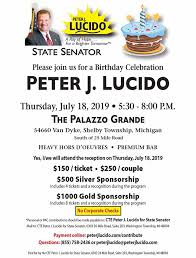 See if your friends have read any of joe lucido's books. Peter J Lucido Dear Friends On Thursday July 18 Facebook