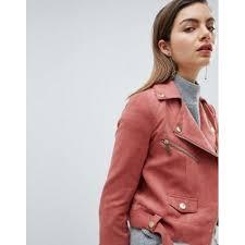 ivyrevel suedette biker jacket with gold details women s leather jacket 68kdwb3p8pcvm3