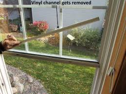 vinyl channel removed