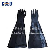 gloves for sandblaster blast cabinet