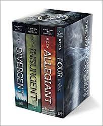 amazon divergent series four book paperback box set divergent insurgent allegiant four 0752423331765 veronica roth books