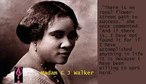 Madam Cj Walker Quotes Amazing Celebrating Black Women In History III The Center Window
