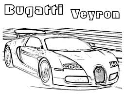 Free Printable Bugatti Coloring Pages For