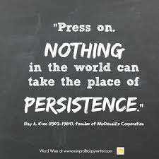 Persistence Quotes Gorgeous Quotes About Persistence For Copywriters And Nonprofit Leaders