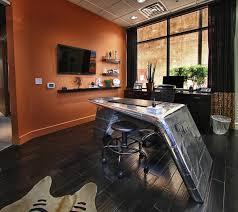 retro office design. Industrial Interior Design Mid Century Modern Vintage Office Space Retro