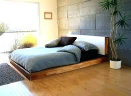 Modern Bed Frame King. Modern Metal Bed Frame King Queen Full Low ...