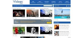 Video Website Template Impressive Best Video Website Templates Video Website Template Gallery Template