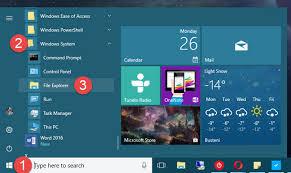 Windows 10 Explorer 10 Ways To Open File Explorer And Windows Explorer In Windows