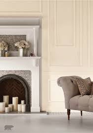 White Paint For Living Room Soft And Ethereal This Cream Room Features Pearly White Paint To
