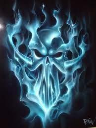 76 scary skulls wallpaper