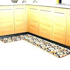 custom l shaped rug l shaped kitchen mat fantastic yellow kitchen mat blue and rugs l