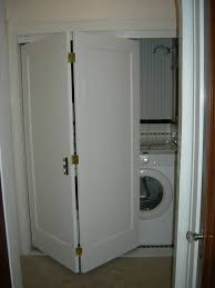 interesting bifold closet doors for laundry decorating ideas and shaker style design