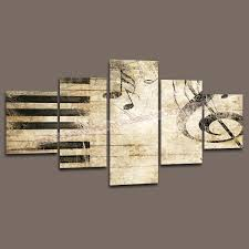 hoting home decor canvas 5 piece art painting of