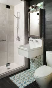 dog faces ceramic bathroom accessories shabby chic: amazing modern apartment bathroom design ideas with black ceramic tile floor and backsplash combining wall mounted white vessel sink under wooden medicine
