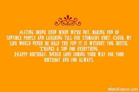 681 best friend birthday wishes