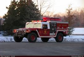 Fire Truck Photos - Hummer - H1 - Wildland - Valparaiso Fire ...