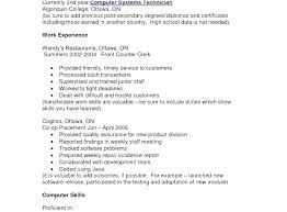 Basic Computer Skills Resume Sample For A Job Examples Free Example Stunning Computer Skills Resume Examples
