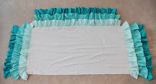Crib Skirt Pattern Magnificent EmmmyLizzzy Ruffled Waterfall Crib Skirt