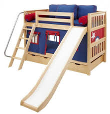 cool kids beds with slide. Home \u203a Kids Bed Design Cool Bunk With Slide For Boys And Girls Play Twin Wooden Material Transitional Bedroom Decors Beds