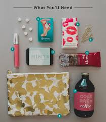 how to create a bridesmaid survival kit