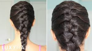 Hairstyle Braids how to basic french braid youtube 3661 by stevesalt.us