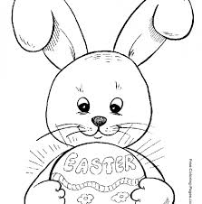 Coloring Pages Of Easter Eggs And Bunnies 231 Free Printable Easter
