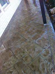 Decorative Concrete Overlay Patio Stamped Concrete Overlay Midlothian Tx Esr Decorative
