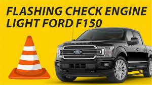 F150 Service Engine Soon Light Blinking Flashing Check Engine Light Ford F150 Youtube