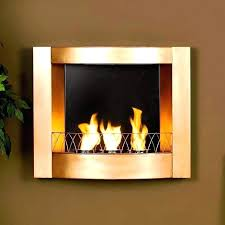wall mounted natural gas fireplace mount image of modern heater vent free contemporary open hearth