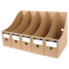 Magazine Holder Cardboard Amazing MYEUSSN File Magazine Holder Cardboard Magazine Book Rack Lever Arch
