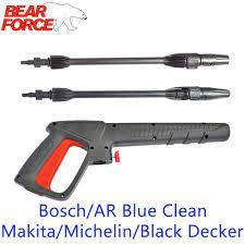 Yüksek basınçlı yıkayıcı püskürtme tabancası Jet Lance meme araba yıkama  Jet su tabancası mızrak değnek Bosch siyah katlı AR mavi temiz  Makita|nozzles for pressure washers|nozzle boschnozzle high pressure -  AliExpress