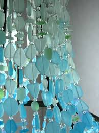 turquoise glass chandelier chandelier from sea glass how pretty is this great lighting inside turquoise glass