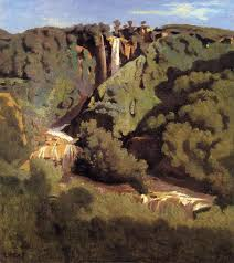 camille corot cascade of terni camille corot painting authorized official website