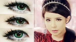 park bom makeup inspired crush anese ver 2ne1