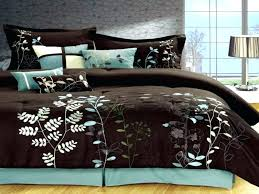 teal and brown bedding grey and brown bedding and grey comforter sets brown gold teal white