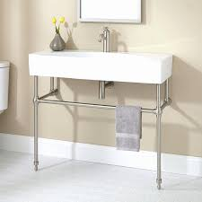 trend bathroom sink metal legs picture 35 of 45 console sinks lovely