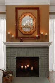 Painted Brick Fireplace Makeover | how-tos | DIY