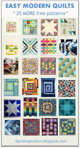 "Quilt Inspiration: Free pattern day: Easy Modern Quilts (2) & Here and There Squares, 96 x 96"", free pattern by Bonnie Vangool for  Windham Fabrics Adamdwight.com"