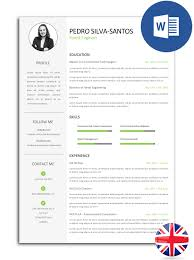 pack ebook pdf format cv and cover letter models noctula resume model fully editable in word cv pss e30d 003