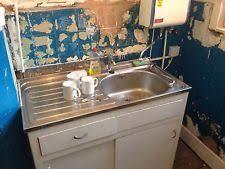 english rose sink unit standalone type 1950s vintage kitchen unit