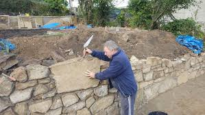 stone walls and stonework for