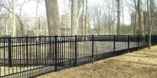 national fence nj systems aluminum dog park inc o48