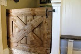 diy wood baby gate plans ideas
