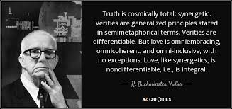 Truth Quotes Classy R Buckminster Fuller Quote Truth Is Cosmically Total Synergetic