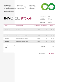 Software Invoice Template Best Invoice Software For Mac NinoCrudele Invoice Templates 21