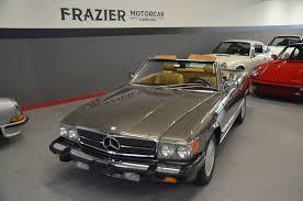 The 560sl has a all aluminium 5.6 dual overhead cam v8 with 227 hp, the euro 500 v8 produces a bit more hp. 1987 Mercedes Benz 560sl For Sale Classic Mercedes Mercedes Benz Mercedes Benz Cars